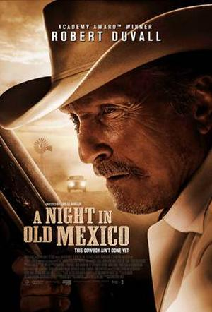 "Poster art for ""A Night in Old Mexico."""