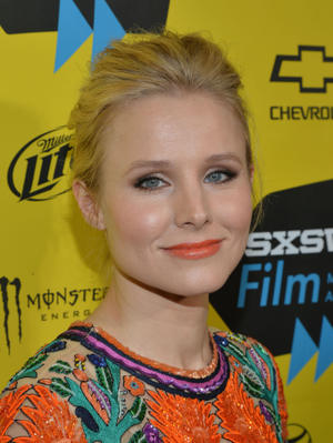 "Kristen Bell at the Texas premiere of ""Veronica Mars."""