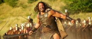 "Dwayne Johnson as Hercules in ""Hercules: The Thracian Wars."""