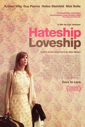 """Poster art for """"Hateship Loveship."""""""