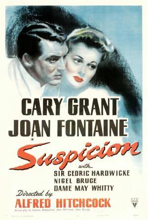 """Poster art for """"Suspicion."""""""