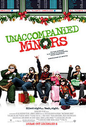 "Poster art for ""Unaccompanied Minors."""