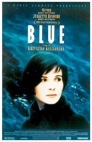 """Poster art for """"Blue."""""""