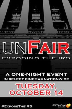 """Poster art for """"UnFair: IRS."""""""