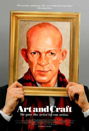 """Poster art for """"Art and Craft."""""""