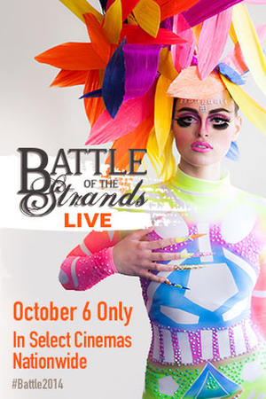 "Poster art for ""Battle of the Strands LIVE."""