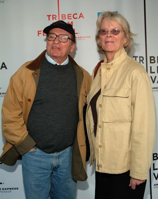 Sydney Lumet and Mary Gimbel at the Tribeca Film Festival for screening of the
