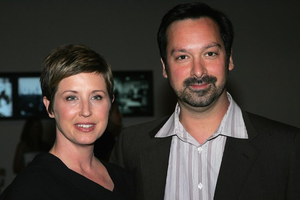 James Mangold and Cathy Konrad at the