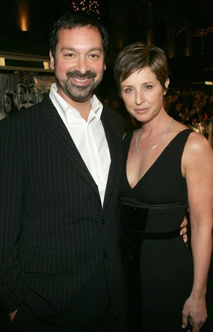 James Mangold and producer Cathy Konrad at the premiere of
