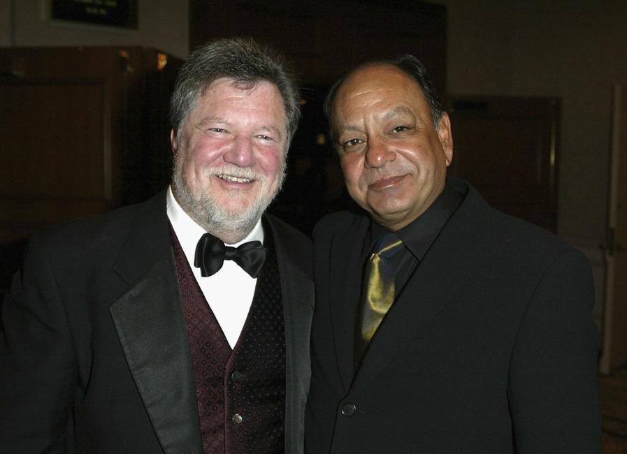 Cheech Marin and James Hirsch at the 2004 ARPA International Film Festival Gala and Awards Benefit.