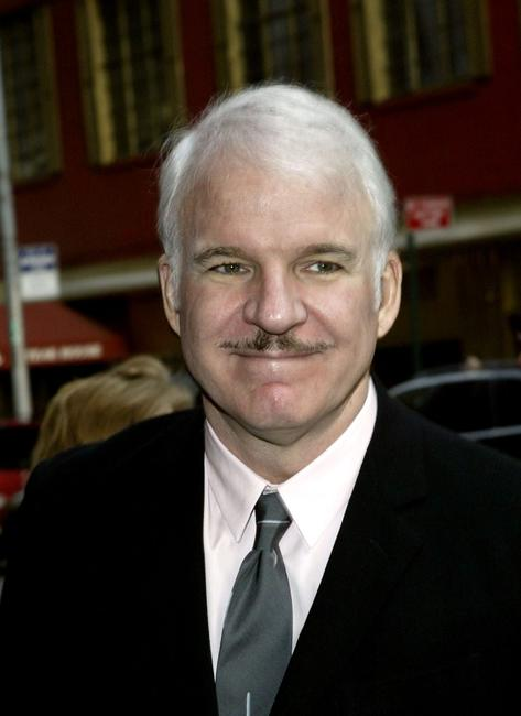 Steve Martin at the 36th Annual Party in the garden.