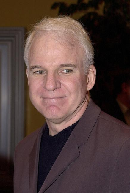 Steve Martin at the Los Angeles premiere of his play