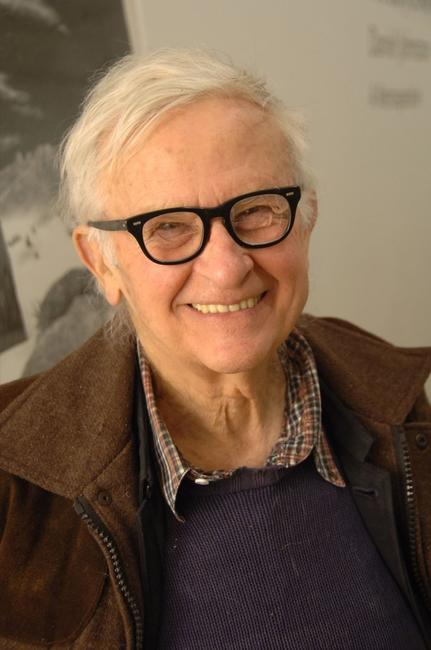 Albert Maysles at the after party of the screening of