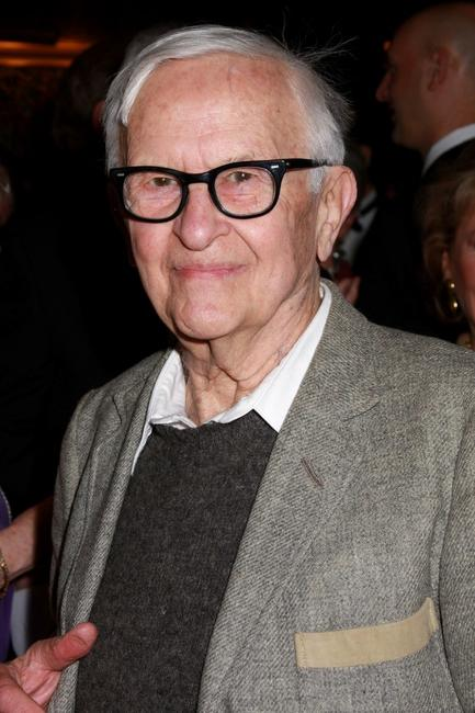 Albert Maysles at the presentation of the 2008 Sir John Gielgud Award to Patrick Stewart.