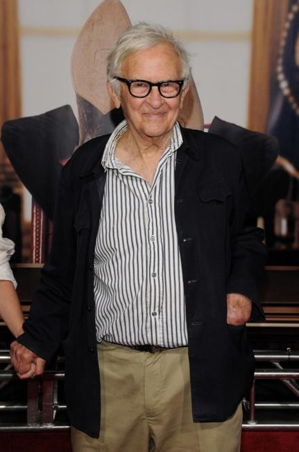 Albert Maysles at the New York premiere of