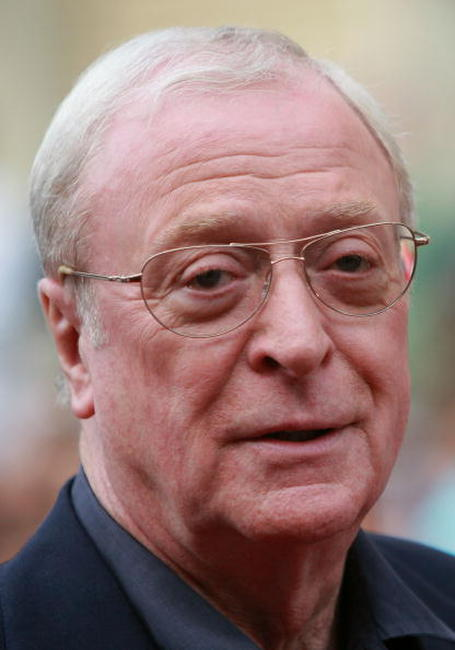 Michael Caine at the