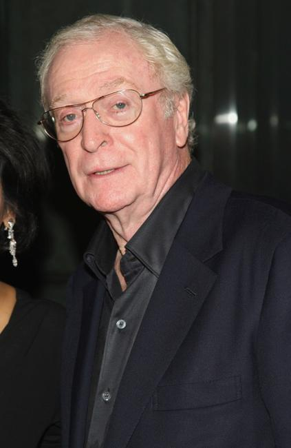 Michael Caine at the New York premiere of