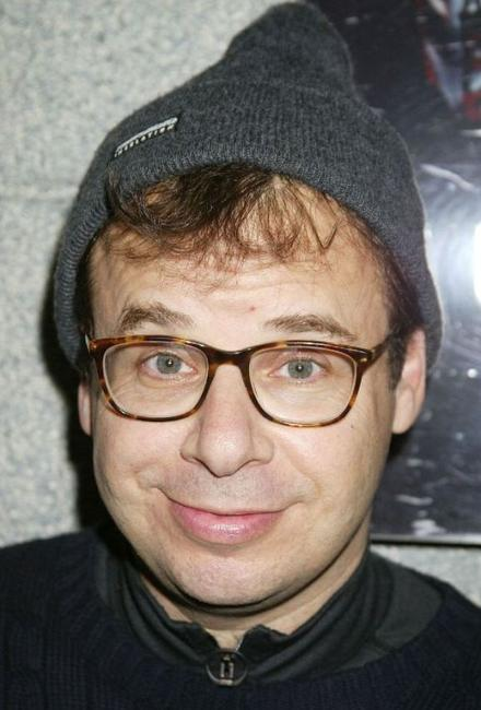 Rick Moranis at the 4th Annual SuperSkate 2002 Charity Hockey Event.