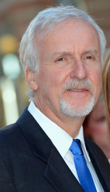 Director James Cameron at the world premiere of