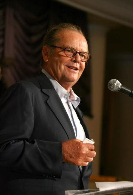 Jack Nicholson at the HFPA annual installation luncheon in Beverly Hills.