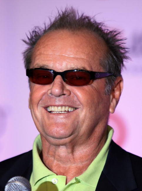 Jack Nicholson during AFI's 40th Anniversary celebration in Hollywood.