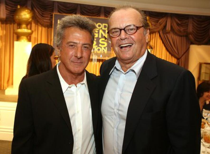 Dustin Hoffman and Jack Nicholson at the NHFPA annual installation luncheon.