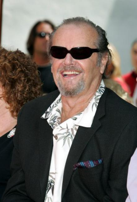 Jack Nicholson at the hand and footprint ceremony honoring actor/comedian Adam Sandler.