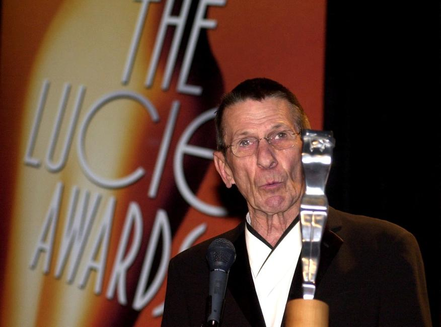 Leonard Nimoy at the 2003 International Photographer Awards.