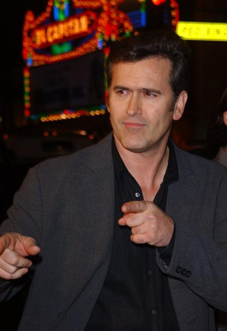 Bruce Campbell at the Hollywoood premiere of