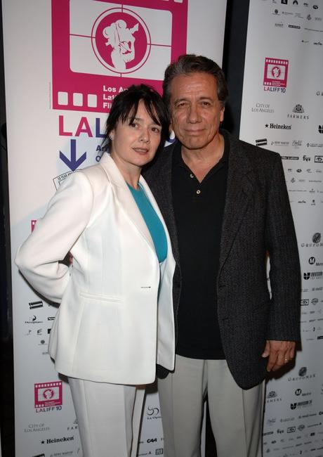 Edward James Olmos and Marlene Demer at the 10th Annual LA Latino International Film Festival.