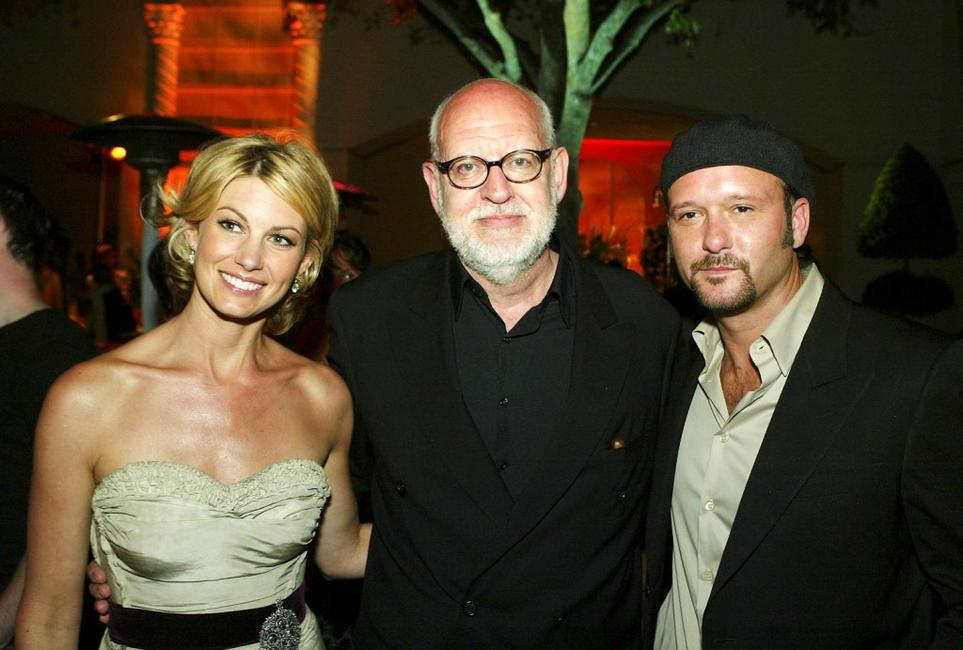 Frank Oz, Faith Hill and Tim McGraw at the after-party for the premiere of