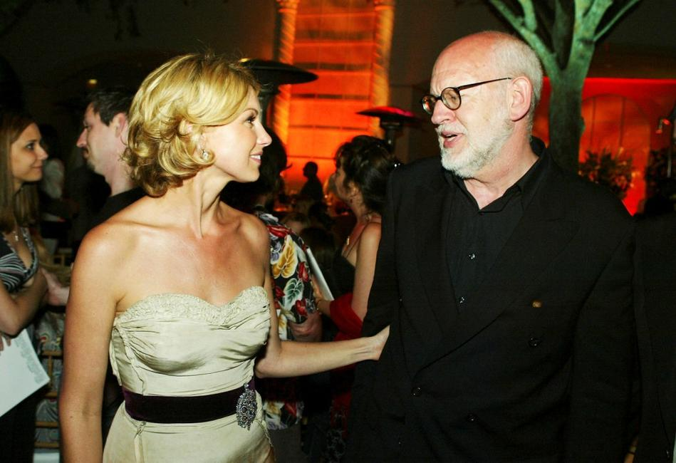 Frank Oz and Faith Hill at the after-party for the premiere of