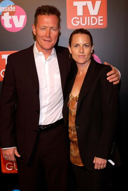 Robert Patrick and his wife Barbara Patrick at the TV Guide & Inside TV 2005 Emmy after party .