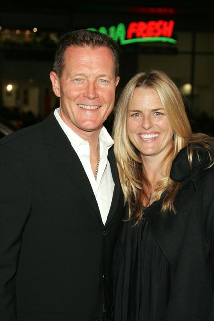 Robert Patrick and his wife Barbara Patrick at the premiere of