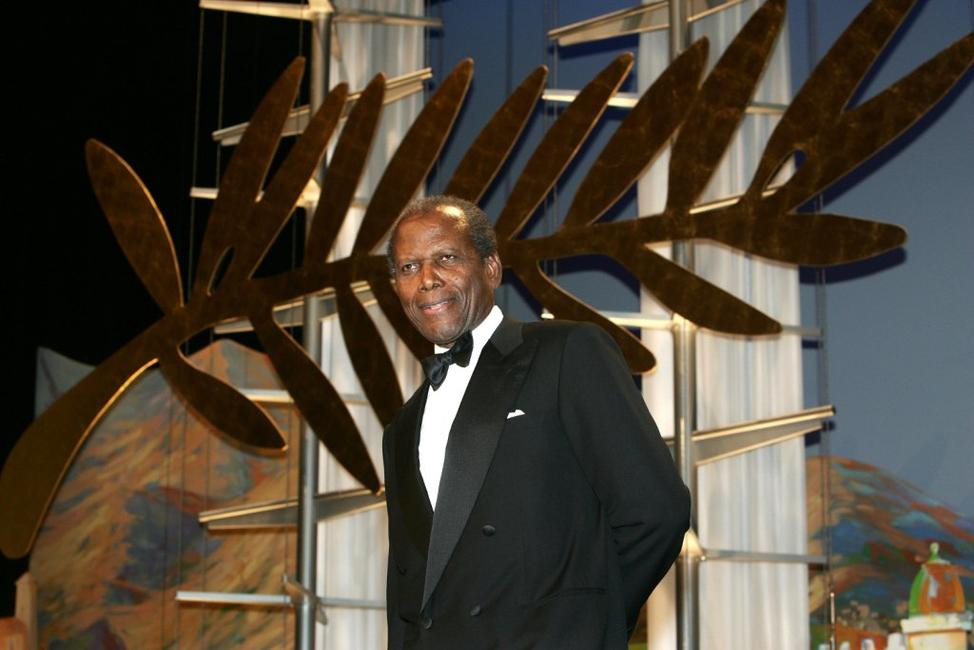 Sidney Poitier at the World Premiere of
