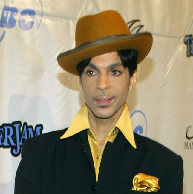 Prince at the 7th Annual Tiger Woods Tiger Jam.