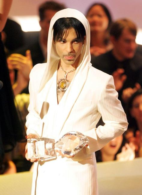 Prince at the 31st Annual People's Choice Awards.