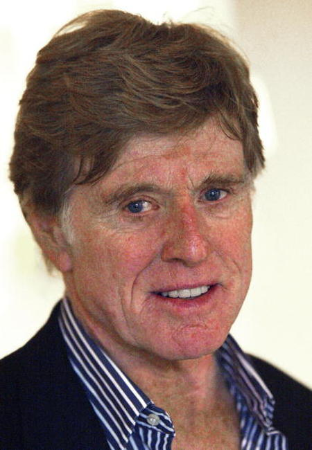 Robert Redford at the Television Critics Association Winter Press Tour in Pasadena, California.