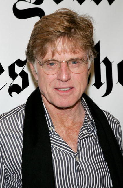Robert Redford at the 5th Annual New York Times Arts & Leisure Weekend in New York City.