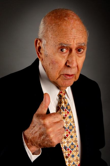 Carl Reiner at the 2007AFI FEST.