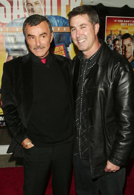 Burt Reynolds and Peter Segal at the special screening of
