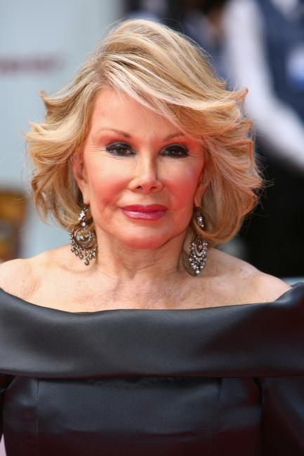 Joan Rivers at the British Academy Television Awards.
