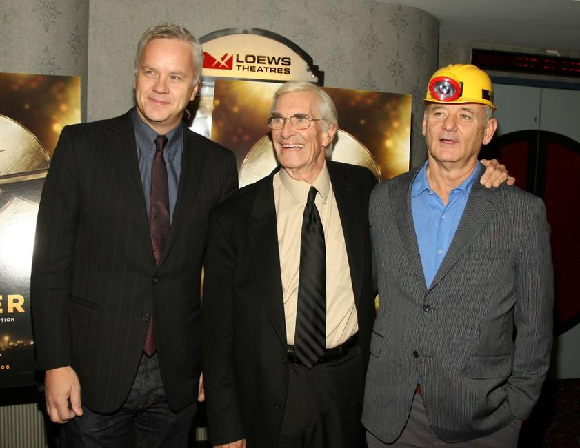 Tim Robbins, Martin Landau and Bill Murray at the premiere of