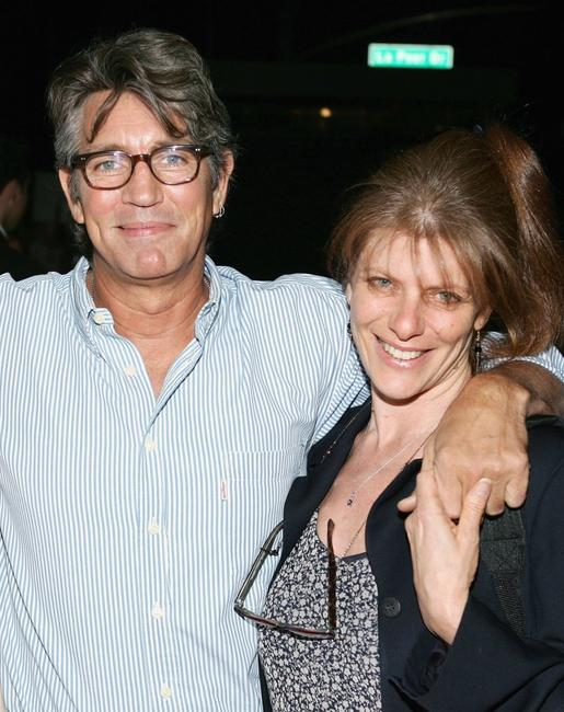 Eric Roberts and his wife Elisa at the premiere of