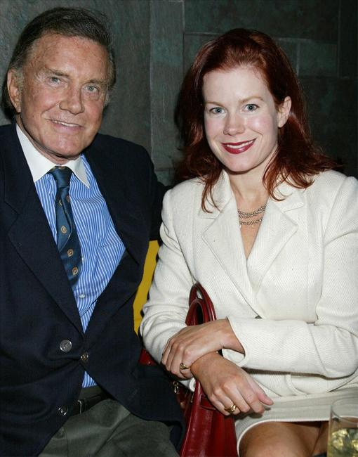 Cliff Robertson and his daughter Heather at the Launch of New Scottish Website.