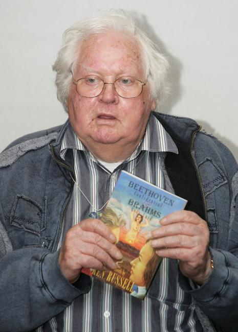 Ken Russell at the Waterstones to read extracts from his book