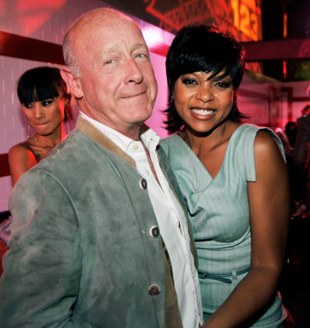 Tony Scott and Taraji P. Henson at the after party of the California premiere of