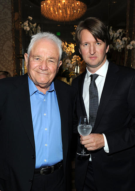 David Seidler and director Tom Hooper at the Eleventh Annual AFI Awards reception.