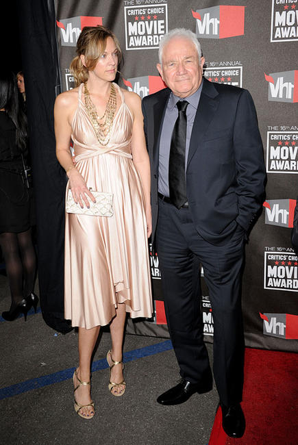 David Seidler and Guest at the 16th Annual Critics' Choice Movie Awards.