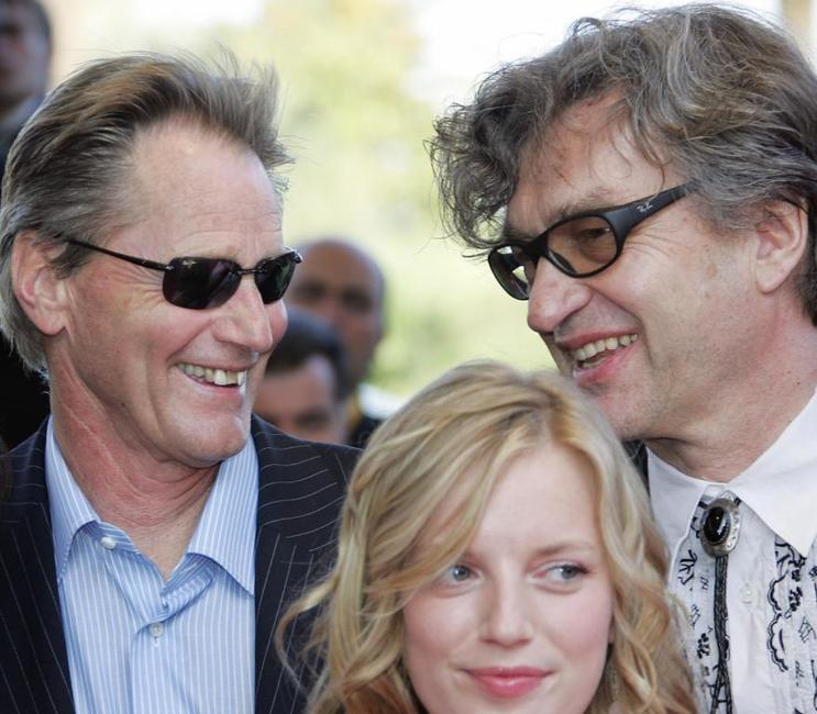 Sam Shepard, Wim Wenders and Sarah Polley at the screening of the film